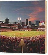 Cincinnati Reds V St Louis Cardinals Wood Print