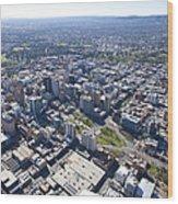 City Center, Adelaide Wood Print
