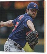 Cleveland Indians V Seattle Mariners Wood Print