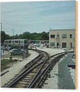 Cta's Retired 2200-series Railcar Wood Print
