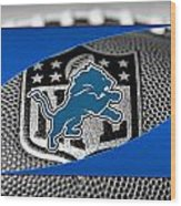 Detroit Lions Wood Print by Joe Hamilton