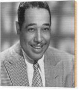 Duke Ellington (1899-1974) Wood Print by Granger