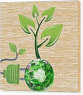 eco Wood Print