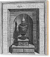 Franklin: Stove Wood Print