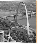 Gateway Arch Saint Louis Mo Wood Print