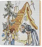Grimm: Hansel And Gretel Wood Print