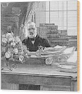 Grover Cleveland (1837-1908) Wood Print