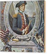 John Paul Jones (1747-1792) Wood Print