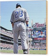 Kansas City Royals V Detroit Tigers Wood Print