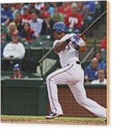 Kansas City Royals V Texas Rangers 6 Wood Print