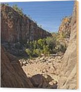 Katherine Gorge Landscapes Wood Print