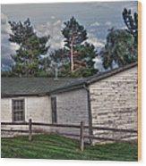 Lakewood Heritage Center Wood Print