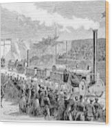 Locomotive Rocket, 1829 Wood Print