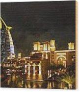 Madinat Jumeirah Wood Print