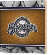 Milwaukee Brewers Wood Print