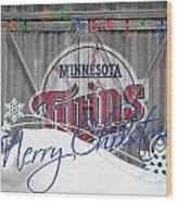 Minnesota Twins Wood Print