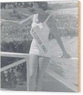 Miss Florida 1960 Wood Print