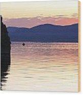 Mono Lake California Wood Print by Jason O Watson