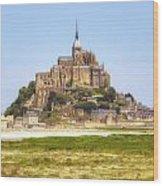 Mont Saint-michel - Normandy Wood Print
