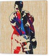 Muhammed Ali Wood Print