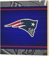 New England Patriots Wood Print