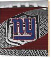 New York Giants Wood Print by Joe Hamilton
