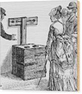 Newgate Prison, 1873 Wood Print