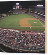 Oakland Athletics V. Los Angeles Angels Wood Print