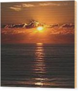 Ocean City Md Sunrise Wood Print