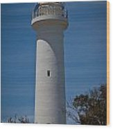 Point  Hicks Lighthouse Wood Print