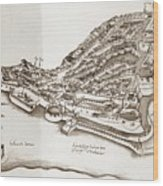 Portuguese Outpost Wood Print