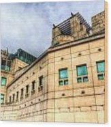 Secret Service Building London Wood Print