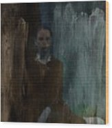 Shadows (portrait) Wood Print