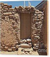 Sky City Acoma Pueblo Wood Print