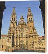 Spain. Santiago De Compostela Wood Print