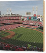 St. Louis Cardinals Vs. Cincinnati Reds Wood Print
