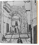 Sutera Rabato Antico Wood Print