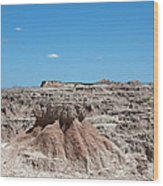 The Badlands Wood Print