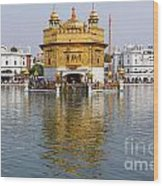 The Golden Temple At Amritsar India Wood Print