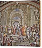 Vatican Art Wood Print