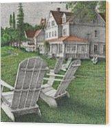 605 Murray Circle Wood Print