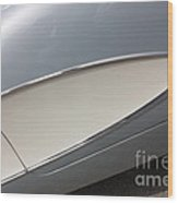 61 Corvette-grey-sidepanel-9244 Wood Print