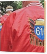 610 Stompers - New Orleans La Wood Print