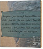 62- Inspiration Wood Print