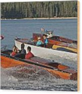 The Boathouse Disney Springs Wood Print