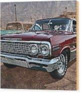 '63 Impala Wood Print