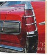 63 Pontiac Bonneville Wood Print