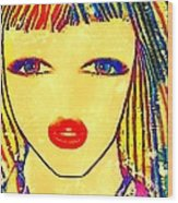Eliane  Wood Print