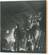 64 Killed In Lewis Ham Rail Disaster Wood Print
