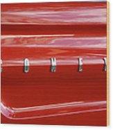64 Red Comet Wood Print